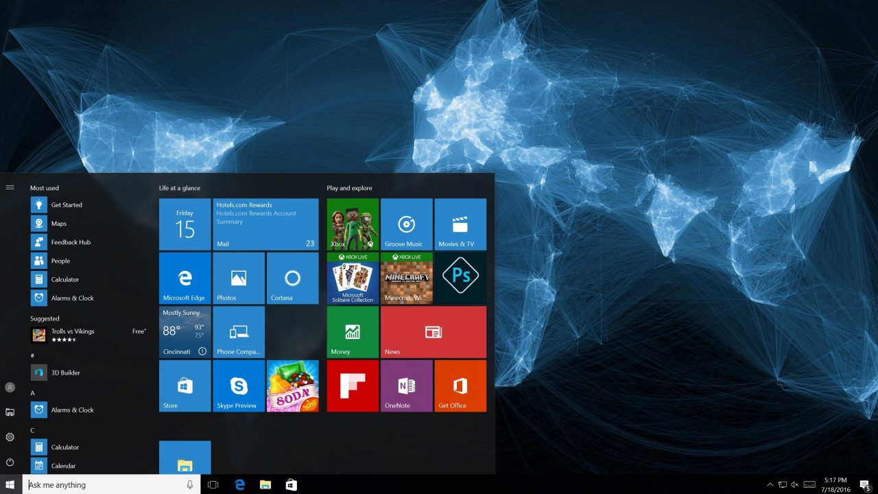 Microsoft Prepared for Windows 10 Update, Ends Free Upgrades