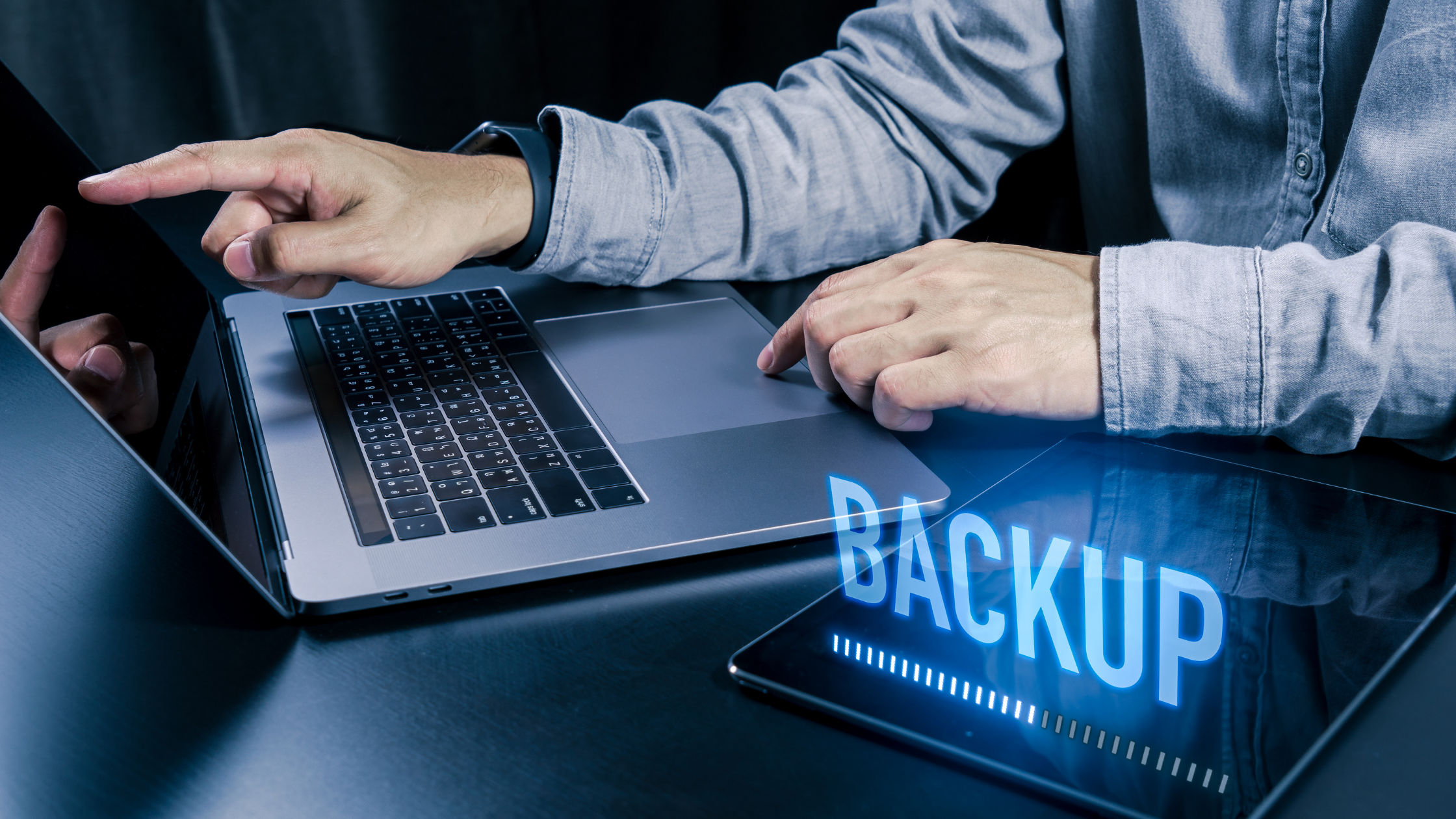 What are you doing for backups when working from home?